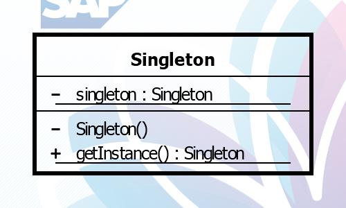 Singleton mit Fiori