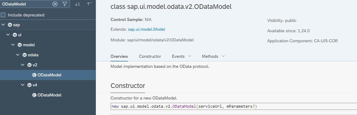 OData Model