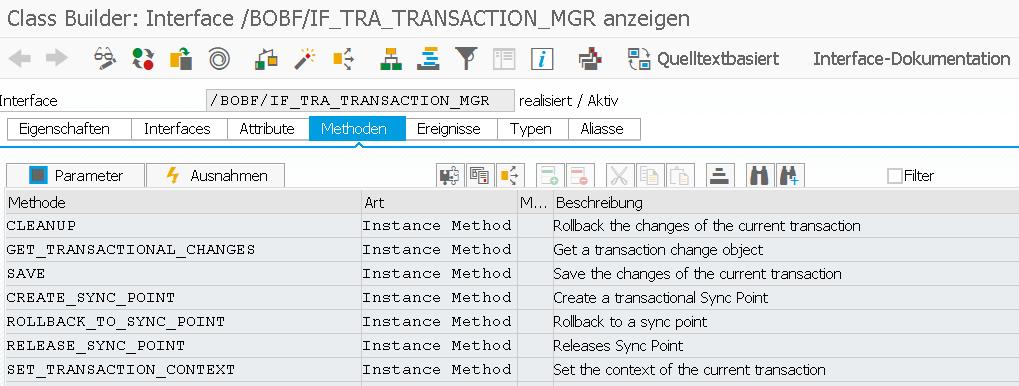 BOPF API Transaction Manager